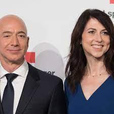 Die Exfrau von Jeff Bezos hat einen ...