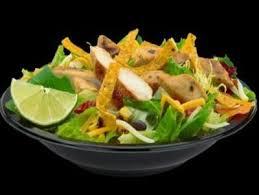 premium southwest salad with grilled en