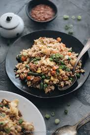 15 minute pork fried rice omnivore s