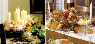 Furniture, Fabulous Thanksgiving Centerpieces ...