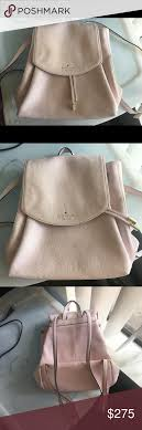 Kate Spade Light Pink Backpack Kate Spade Small Backpack Very Light Pale Pink With Pink