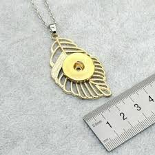 necklaces pendants snap on