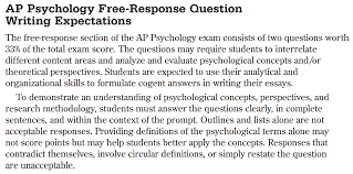 ap psychology mr duez frq frqs all frq questions ever asked