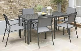 havana garden dining set 6 seats