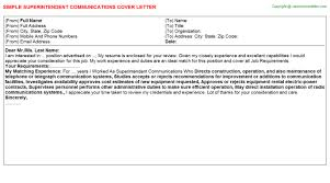 cover letter job fair cover letter templates superintendent cover letter