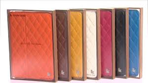 jisonCASE Quilted Leather Smart Case for iPad Mini - YouTube & jisonCASE Quilted Leather Smart Case for iPad Mini Adamdwight.com