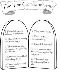 Small Picture 25 unique Ten commandments ideas on Pinterest 10 commandments