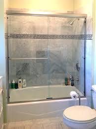 frameless bath doors brushed nickel finish shower home depot sliding for tubs aqua kohler levity bathtub frameless bath doors
