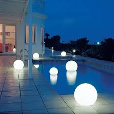 outdoor lighting balls. Beautiful Lighting Swimming Pool Lighting For Outdoor Lighting Balls A