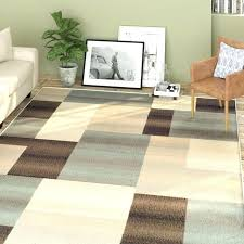 blue and brown area rugs chocolate
