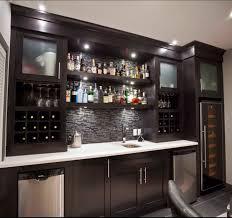 The Chic Technique Like Glass Racks Alcohol Shelves  Tiles - Home liquor bar designs