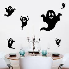 creative haunted house glass wall stickers children bedroom decoration sticker wall art