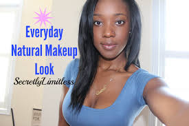 how to no makeup makeup tutorial basic foundation routine for dark skin you