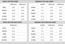 Men And Women Size Chart Size Chart