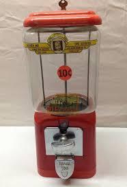 Vintage Peanut Vending Machine Unique Vintage VENDING MACHINE ACORN 48 Cent Gumball Candy Peanut LIONS