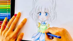 Tuto Dessin 15 Crayon De Couleurs Hana De Face 3 V Tements