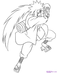 Naruto Coloring Pages Art In Japan Pinterest Colorir Desenhos For