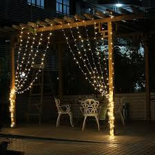 lighting curtains. 3Mx3M 300 LED Outdoor Holiday Lighting Christmas Decorative Xmas Curtain String Fairy Garlands Party Wedding Light US110v EU220v-in From Lights Curtains
