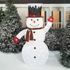 72 Light Up Snowman