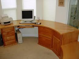 curved corner desks for home