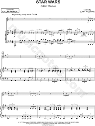 Download sheet music for star wars. Star Wars Main Theme Violin Piano By Star Wars Sheet Music Collection Solo Accompaniment Instrumental Parts Print Play Sku Cl0003395
