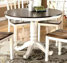 white round dining table set distressed round dining table inspiring white round kitchen table best ideas