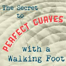 The Secret to Perfect Curves with a Walking Foot - Right Sides ... & The Secret to Perfect Curves with a Walking Foot Adamdwight.com