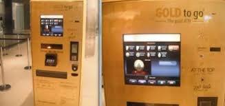 Gold Bar Vending Machine Extraordinary UK To Have Gold Dispensing ATM Machines In Every Major City Over
