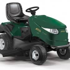 riding lawn mower side view. gtl46hr twin cylinder 118cm side discharge lawn tractor riding mower view