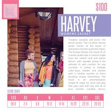Lularoe Harvey Sizing Chart 2018 In 2019 Stylish Clothes