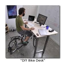 Desks - DIY Bike desk