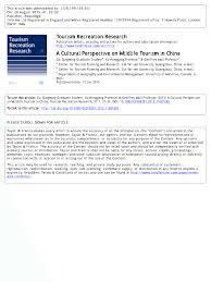 short example of critique paper