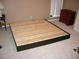 diy platform bed frame build a bed build a bed frame from salvaged free wood pallets build diy king size platform bed frame plans
