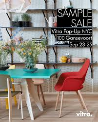vitra sample sale your favorite pieces for less sep 23 25 in