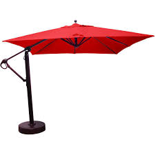 patio ft cantilever umbrella: buy  foot cantilever round umbrella in blue from bed bath amp beyond