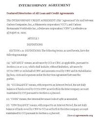 Contract Agreement Between Two Companies Agreement Sample Agreement ...
