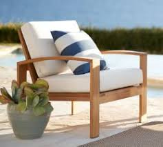 wood patio furniture. Patio Furniture Wood Adorable White Single Chair Striped Pattern Pillow Sunbrella Outdoor Property Tree On W
