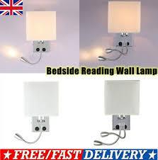 led gooseneck wall light bedside