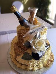 Champagne Birthday Cake By Pastry Chef Arturos Restaurant