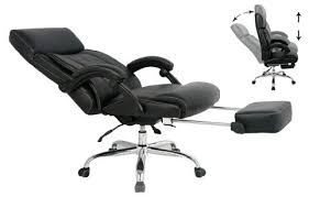 Best Reclining Office Chair For Executive And Relaxing Collection in Office  Chair Footrest