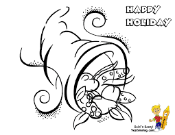Happy Thanksgiving Coloring Pages | ngbasic.com