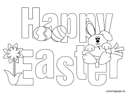 Easter Printable Coloring Pages Coloring Page Coloring Book