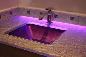 bathroom led lighting ideas. Backroom Accent Led Lighting Of Glass Counter Bathroom Ideas E