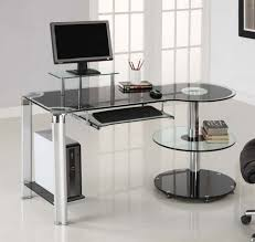 ikea computer desks small spaces home. Furniture, Stylish Ikea Desks For Small Spaces Home Office With Glass Top And Floating Desk Computer