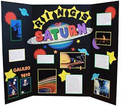 poster for school project make a science fair project poster ideas the rings of saturn