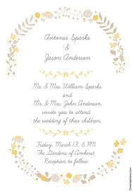 invitaciones de boda para imprimir 10 invitaciones de boda para imprimir vintage y gratis hola