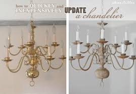painting light fixtures. Making Over A Chandelier With Chalk Paint Painting Light Fixtures