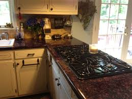 why stop at countertops did you know that you can use contact paper to cover your cabinets too