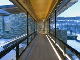 floor lighting hall. Balcony Light Ideas Hall Contemporary With Glass Walls Mountain Modern Floor Lighting H