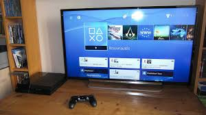 sony tv with ps4. just got a new tv for my ps4, sony kdl40r470 :) very pleased with it now tv ps4